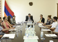 Judiciary and Anti-corruption reforms were discussed during the meeting at Public Council to the Minister of Justice