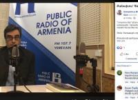 Քաղաքացու օրը և քաղաքացի կրթելու գործիքակազմը. Գևորգ Տեր-Գաբրիելյանը Հանրային ռադիոյի «Ստատուս Քվո» հաղորդաշարի հյուր