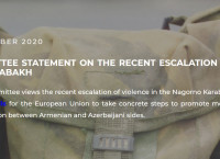 Steering Committee statement on the recent escalation of conflict in Nagorno Karabakh