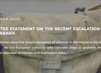 The EaP CSF կոմիտեի հայտարարությունը ԼՂ-ի շուրջ հակամարտության սրացման շուրջ