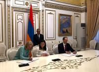 ԱՄՆ ՄԶԳ-ն և Հայաստանի կառավարությունը ստորագրել են համաձայնագիր ԱՄՆ-Հայաստան ռազմավարական համագործակցությունը երկարաձգելու վերաբերյալ